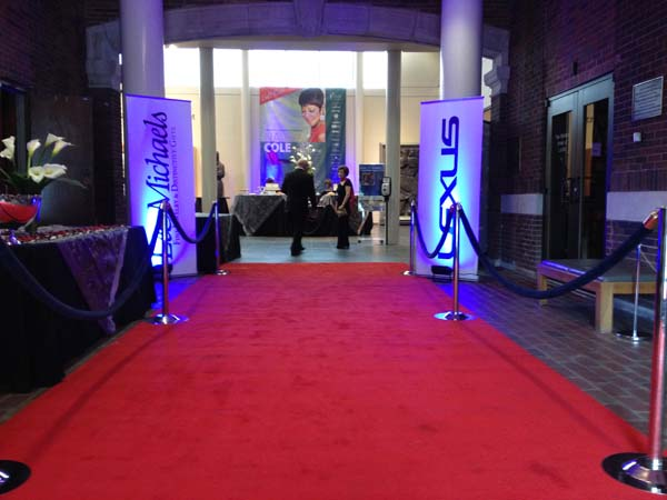 Stanchions Red Carpet - Active Dec 2015